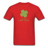 """Lucky Lab Tech"" - Men's T-Shirt red / S - LabRatGifts - 6"