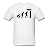 """Stop Following Me"" - Men's T-Shirt white / S - LabRatGifts - 12"