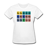 """Lady Gaga Periodic Table"" - Women's T-Shirt white / S - LabRatGifts - 13"