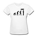 """Stop Following Me"" - Women's T-Shirt white / S - LabRatGifts - 11"