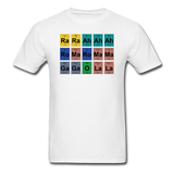 """Lady Gaga Periodic Table"" - Men's T-Shirt white / S - LabRatGifts - 16"