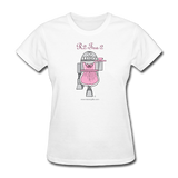 """R2-Tea-2"" - Women's T-Shirt white / S - LabRatGifts - 1"
