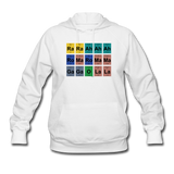 """Lady Gaga Periodic Table"" - Women's Sweatshirt white / S - LabRatGifts - 6"