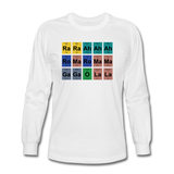 """Lady Gaga Periodic Table"" - Men's Long Sleeve T-Shirt white / S - LabRatGifts - 3"