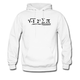 """I Ate Some Pie"" (black) - Men's Sweatshirt white / S - LabRatGifts - 1"