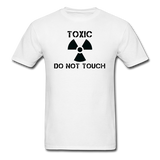 """Toxic Do Not Touch"" - Men's T-Shirt white / S - LabRatGifts - 1"