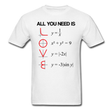 """All You Need is Love"" - Men's T-Shirt white / S - LabRatGifts - 1"