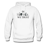 """In Science We Trust"" (black) - Men's Sweatshirt white / S - LabRatGifts - 1"
