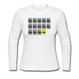 """Na Na Na Batmanium"" - Women's Long Sleeve T-Shirt white / S - LabRatGifts - 3"