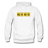 """NaH BrO"" - Men's Sweatshirt white / S - LabRatGifts - 5"