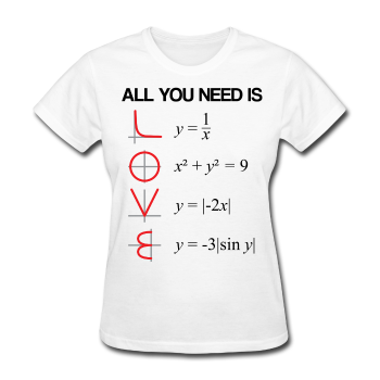 """All You Need is Love"" - Women's T-Shirt white / S - LabRatGifts - 1"