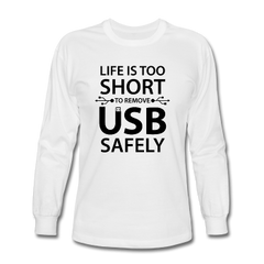 Men's Electrical Long Sleeve T-Shirts