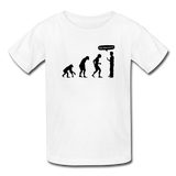 """Stop Following Me"" - Kids' T-Shirt white / XS - LabRatGifts - 5"