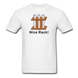 """Nice Rack"" - Men's T-Shirt white / S - LabRatGifts - 1"