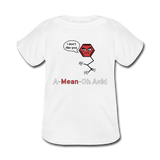 """A-Mean-Oh Acid"" - Baby Lap Shoulder T-Shirt white / Newborn - LabRatGifts - 3"