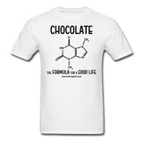 """Chocolate"" - Men's T-Shirt white / S - LabRatGifts - 15"