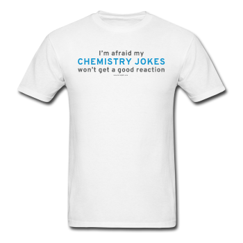 """Chemistry Jokes"" - Men's T-Shirt white / S - LabRatGifts - 1"