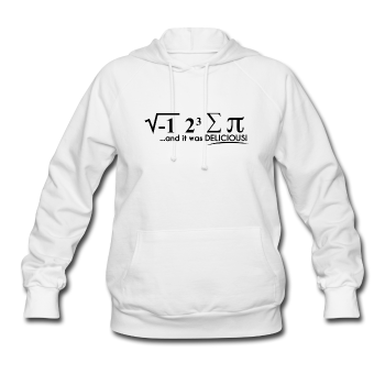 """I Ate Some Pie"" (black) - Women's Sweatshirt white / S - LabRatGifts - 1"