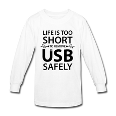 Kid's Electrical Long Sleeve T-Shirts