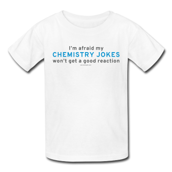 """Chemistry Jokes"" - Kids' T-Shirt white / XS - LabRatGifts - 1"