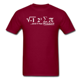 """I Ate Some Pie"" (white) - Men's T-Shirt burgundy / S - LabRatGifts - 3"
