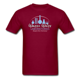 """Walter White Laboratories"" - Men's T-Shirt burgundy / S - LabRatGifts - 3"