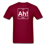"""Ah! The Element of Surprise"" - Men's T-Shirt burgundy / S - LabRatGifts - 3"