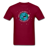 """Save the Planet"" - Men's T-Shirt burgundy / S - LabRatGifts - 4"