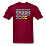 """Na Na Na Batmanium"" - Men's T-Shirt burgundy / S - LabRatGifts - 4"
