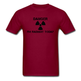 """Danger I'm Radiant Today"" - Men's T-Shirt burgundy / S - LabRatGifts - 12"