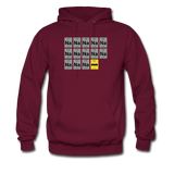 """Na Na Na Batmanium"" - Men's Sweatshirt burgundy / S - LabRatGifts - 7"