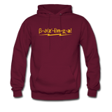 """Bazinga!"" - Men's Sweatshirt burgundy / S - LabRatGifts - 6"