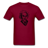 """Albert Einstein"" - Men's T-Shirt burgundy / S - LabRatGifts - 12"