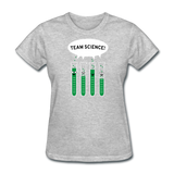 """Team Science"" - Women's T-Shirt heather gray / S - LabRatGifts - 10"