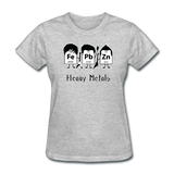 """Heavy Metals"" - Women's T-Shirt heather gray / S - LabRatGifts - 10"