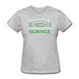 """Stand Back"" - Women's T-Shirt heather gray / S - LabRatGifts - 11"