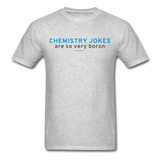 """Chemistry Jokes are so very Boron"" - Men's T-Shirt heather gray / S - LabRatGifts - 6"