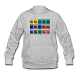 """Lady Gaga Periodic Table"" - Women's Sweatshirt heather gray / S - LabRatGifts - 5"