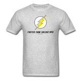 """Faster Than 186,282 MPS"" - Men's T-Shirt heather gray / S - LabRatGifts - 6"