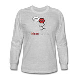 """A-Mean-Oh Acid"" - Men's Long Sleeve T-Shirt heather gray / S - LabRatGifts - 2"