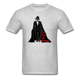 """Tall Darth and Handsome"" - Men's T-Shirt heather gray / S - LabRatGifts - 18"