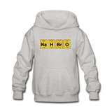 """NaH BrO"" - Kids' Sweatshirt heather gray / S - LabRatGifts - 4"