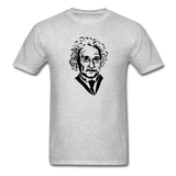 """Albert Einstein"" - Men's T-Shirt heather gray / S - LabRatGifts - 7"