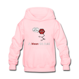 """A-Mean-Oh Acid"" - Kids' Sweatshirt pink / S - LabRatGifts - 1"