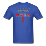 """Everything Happens for a Reason"" - Men's T-Shirt royal blue / S - LabRatGifts - 5"