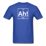 """Ah! The Element of Surprise"" - Men's T-Shirt royal blue / S - LabRatGifts - 6"