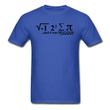 """I Ate Some Pie"" (black) - Men's T-Shirt royal blue / S - LabRatGifts - 7"