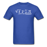 """I Ate Some Pie"" (white) - Men's T-Shirt royal blue / S - LabRatGifts - 7"
