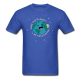 """Save the Planet"" - Men's T-Shirt royal blue / S - LabRatGifts - 7"