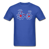 """I've Lost an Electron"" - Men's T-Shirt royal blue / S - LabRatGifts - 6"